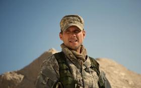 Картинка солдат, форма, кепка, камуфляж, боевик, снаряжение, Christian Slater