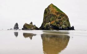 Картинка пейзаж, скалы, берег, море