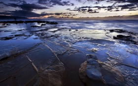 Обои Australia, Reflections, Seascape, Wollongong, Bellambi