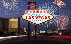 Картинка город, city, USA, Las Vegas, Nevada