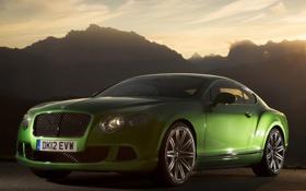 Обои Bentley, Continental, Континенталь, Бентли, Speed