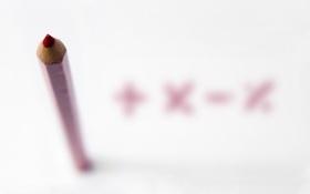 Обои макро, фон, карандаш