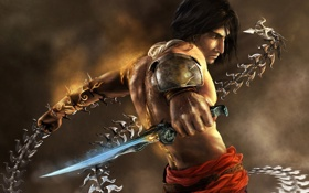 Обои оружие, кинжал, Prince of Persia, Принц Персии, warrior, The Two Thrones, Два Трона