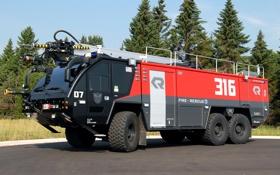 Обои аэродромный автомобиль, transformers 3, panther, пожарный автомобиль, красно-чёрный, трансформеры 3, прайм