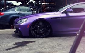 Обои BMW, диск, purple