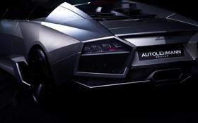 Обои Roadster, Lamborghini, Reventon, родстер, ламборджини, rear, ревентон