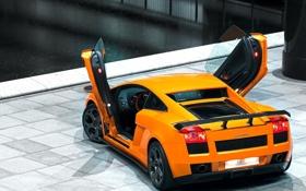 Обои галлардо, тюнинг, orange, автомобиль, tuning, ламбодвери, car