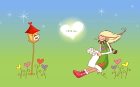 Обои любовь, настроение, чувства