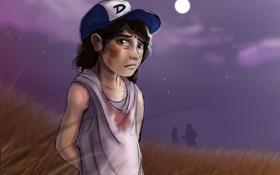 Картинка игра, девочка, ходячие мертвецы, clementine, Клементина, walking dead the game