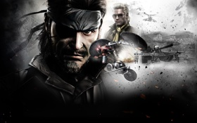 Обои Metal Gear Solid, Chrysalis, Naked Snake, Peace Walker, Kazuhira Miller, McDonell Benedict Miller