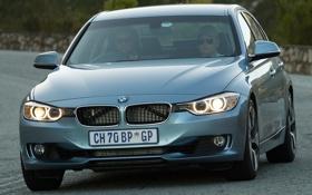 Обои свет, фары, BMW, вид спереди, ActiveHybrid 3