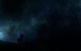 Картинка дети, ночь, тьма, звёзды