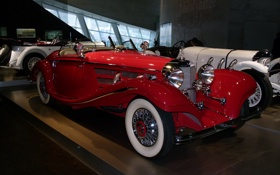 Картинка музей, кабриолет, экспонат