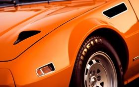 Картинка оранжевый, колесо, покрышка