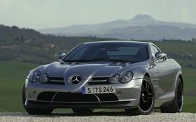 Обои камни, Mercedes, Mclaren SLR 722, тачки, авто обои, машины, мерседесы