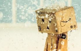 Картинка дождь, коробка, amazon