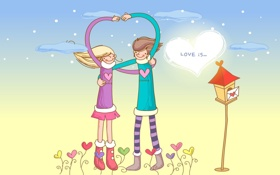 Картинка сердце, объятия, отношения