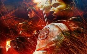 Обои Resident Evil, Jill Valentine, Chris Redfield, Resident Evil 5, Biohazard 5