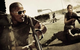 Обои фильм, стрельба, боевик, королевство, The Kingdom