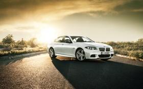 Обои Дорога, BMW, БМВ, F10, bimmer, M550d
