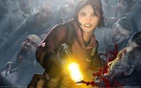 Картинка игры, зомби, games, left4dead, 4 выживших