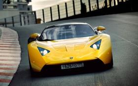 Обои Дорога, Машина, Движение, Машины, Car, Race, Жёлтый