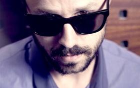 Обои очки, карие глаза, Giovanni Ribisi