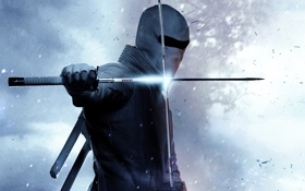 Обои катана, маска, костюм, ниндзя, мечи, G.I. Joe: Retaliation, G.I. Joe: Бросок кобры 2