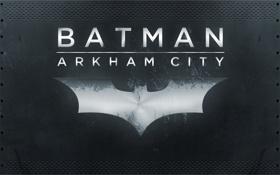 Обои City, логотип, Batman, Archam