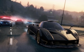 Картинка game, 2012, Pagani Zonda R, Most Wanted, Need for speed