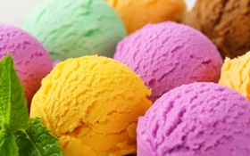 Обои dessert, colorful, sweet, ice cream, мороженое