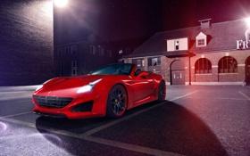 Обои Ferrari, феррари, калифорния, Novitec Rosso, Pininfarina, 2015, California T