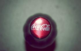 Картинка макро, бутылка, пробка, кока-кола, Coca-cola