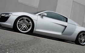 Картинка car, машина, асфальт, tuning, asphalt, audi r8 4.2 v8, o.ct