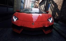 Картинка Most Wanted, Electronic Arts, Самый разыскиваемый, Жажда скорости, тачка, Lamborghini, Need for Speed