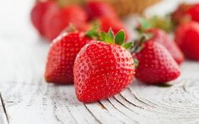 Картинка ягоды, клубника, red, красная, fresh, спелая, sweet