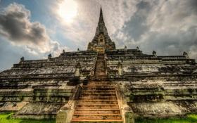 Обои пейзаж, Thailand, Ayutthaya