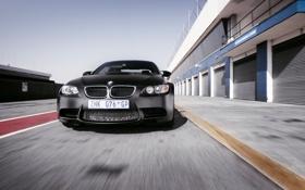 Обои скорость, BMW, черная, доки, еdition, сoupе