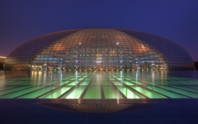 Обои Китай, asia, china, Пекин, beijing, National Centre for the Performing Arts, The Invaders