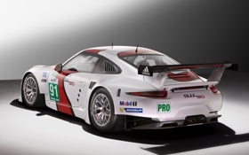 Картинка car, машина, 911, Porsche, спойлер, порше, race