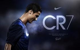 Обои Спорт, Футбол, Cristiano Ronaldo, Football, Реал Мадрид, Real Madrid, Криштиану Роналду