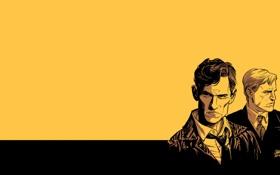 Обои Марти Харт, True Detective, TV Show, HBO, Настоящий детектив, арт, Раст Коул