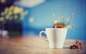 Картинка morning, cup, coffee, latte