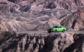 Картинка машины, скала, скалы, тачки, Dodge, додж, авто обои