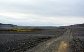 Картинка пейзаж, iceland, дорога