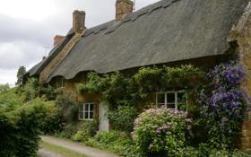 Картинка город, дом, фото, Англия, Balscote