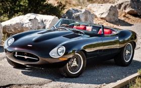 Картинка спорткар, jaguar, eagle, реплика, красивая машина, игл, e-type