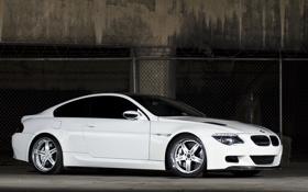 Картинка белый, bmw, бмв, опора, white, wheels, диски
