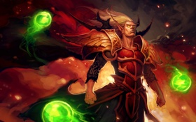 Обои Burning Crusade, World of Warcrfat, Кровавый Эльф, Best Addon, КельТас, Blood Elf