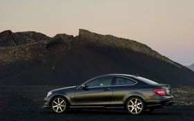 Картинка mercedes benz, auto 2560x1600, тачки, авто обои, c coupe, мерины, машины